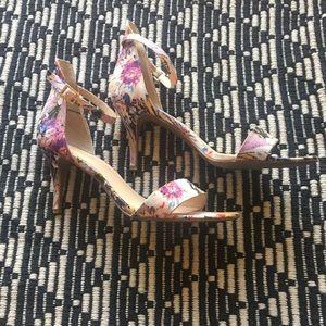 BP Floral Heels